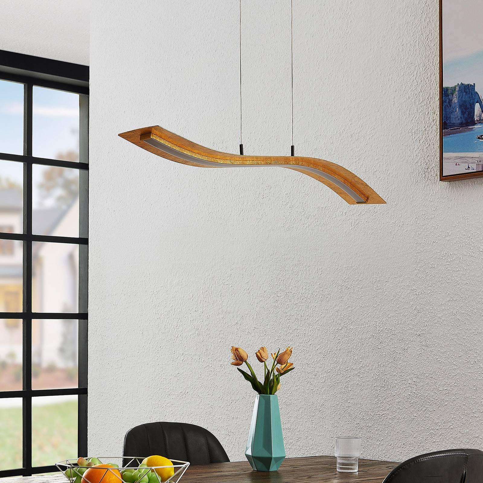 Lindby Larisa -LED-riippuvalaisin, pituus 90 cm
