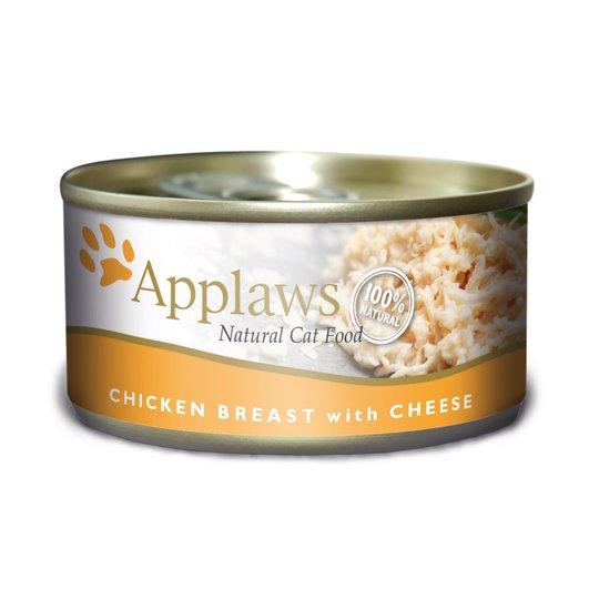 Applaws Chicken Breast&Cheese Konserv (70 grammaa)