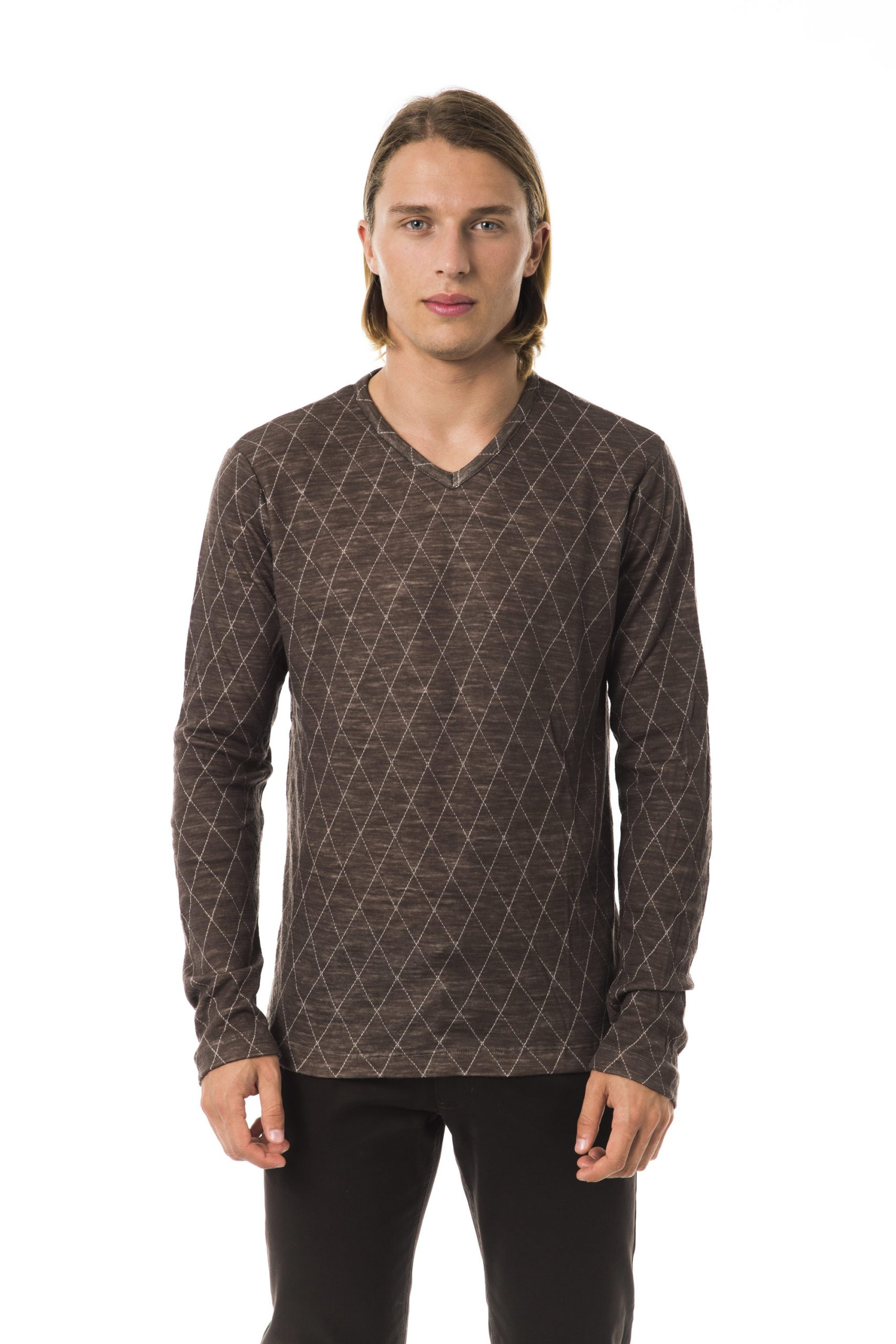 Byblos Men's Sweater Brown BY817236 - S
