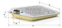 Hydrauliikkasuodatin, automaattivaihteisto MANN-FILTER H 2425 x KIT