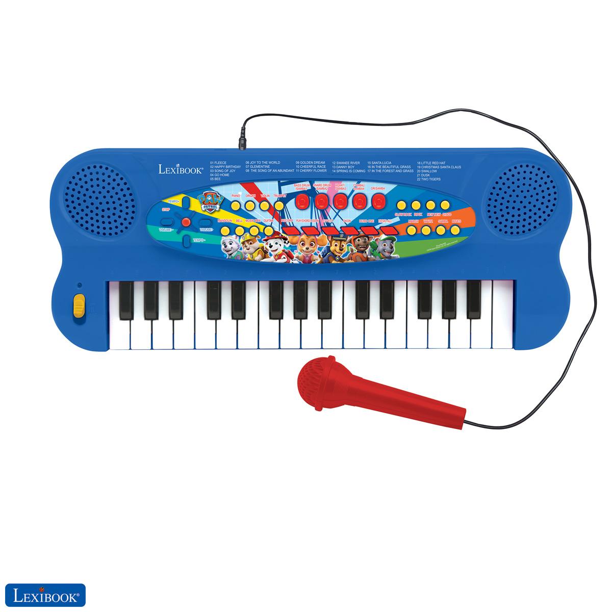 Lexibook - Paw Patrol Electronic Keyboard with Mic (32 keys) (K703PA)