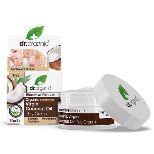 Dr. Organic Virgin Coconut Oil Day Cream, 50 ml