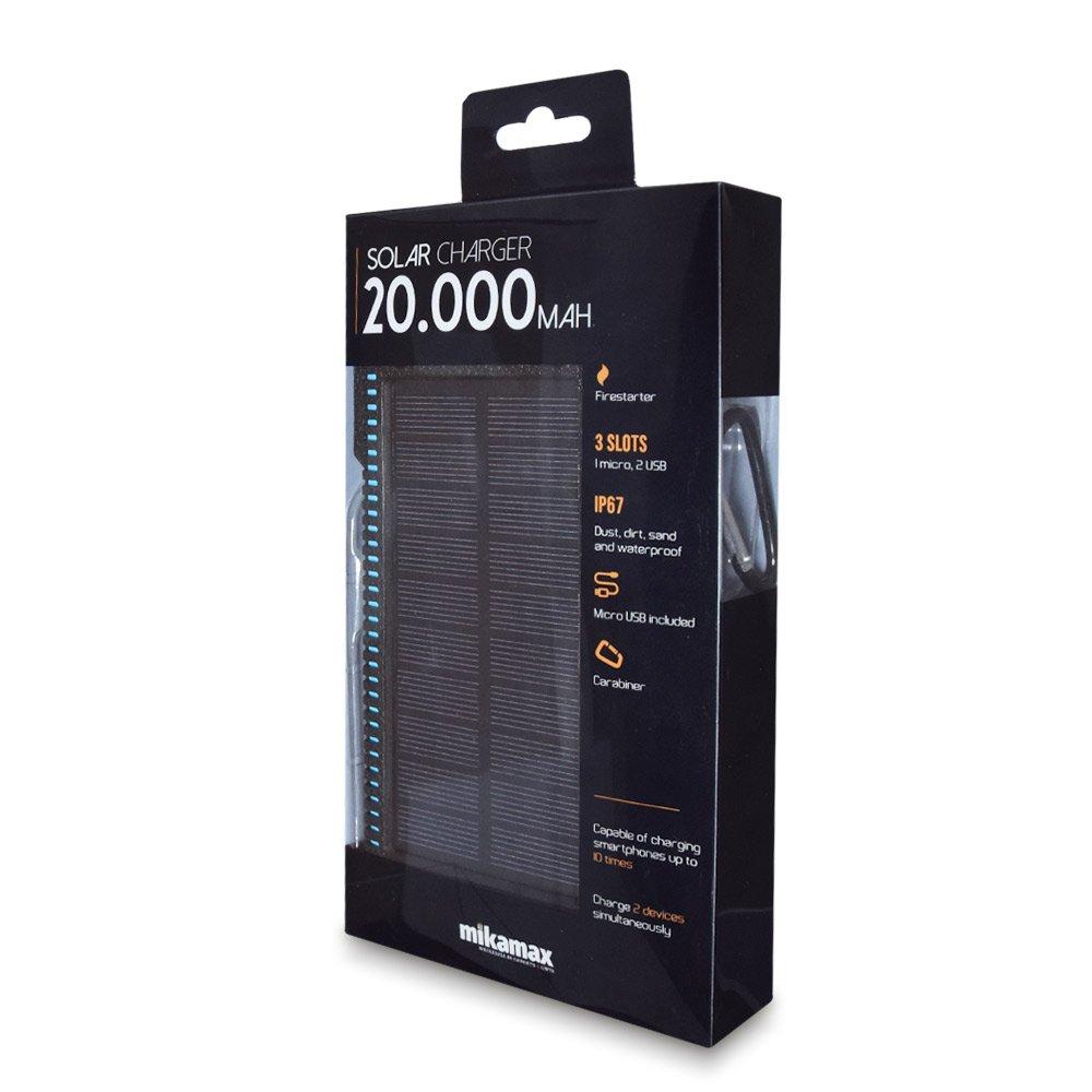 20.000 Mah Solar Powerbank (04724)