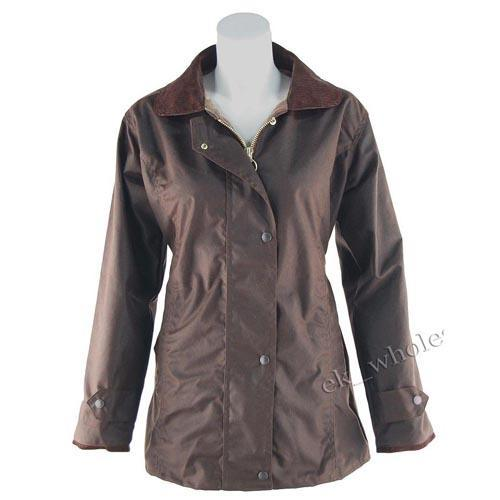 Game Technical Apparel Women's Jacket AntiqueWax - Brown XS