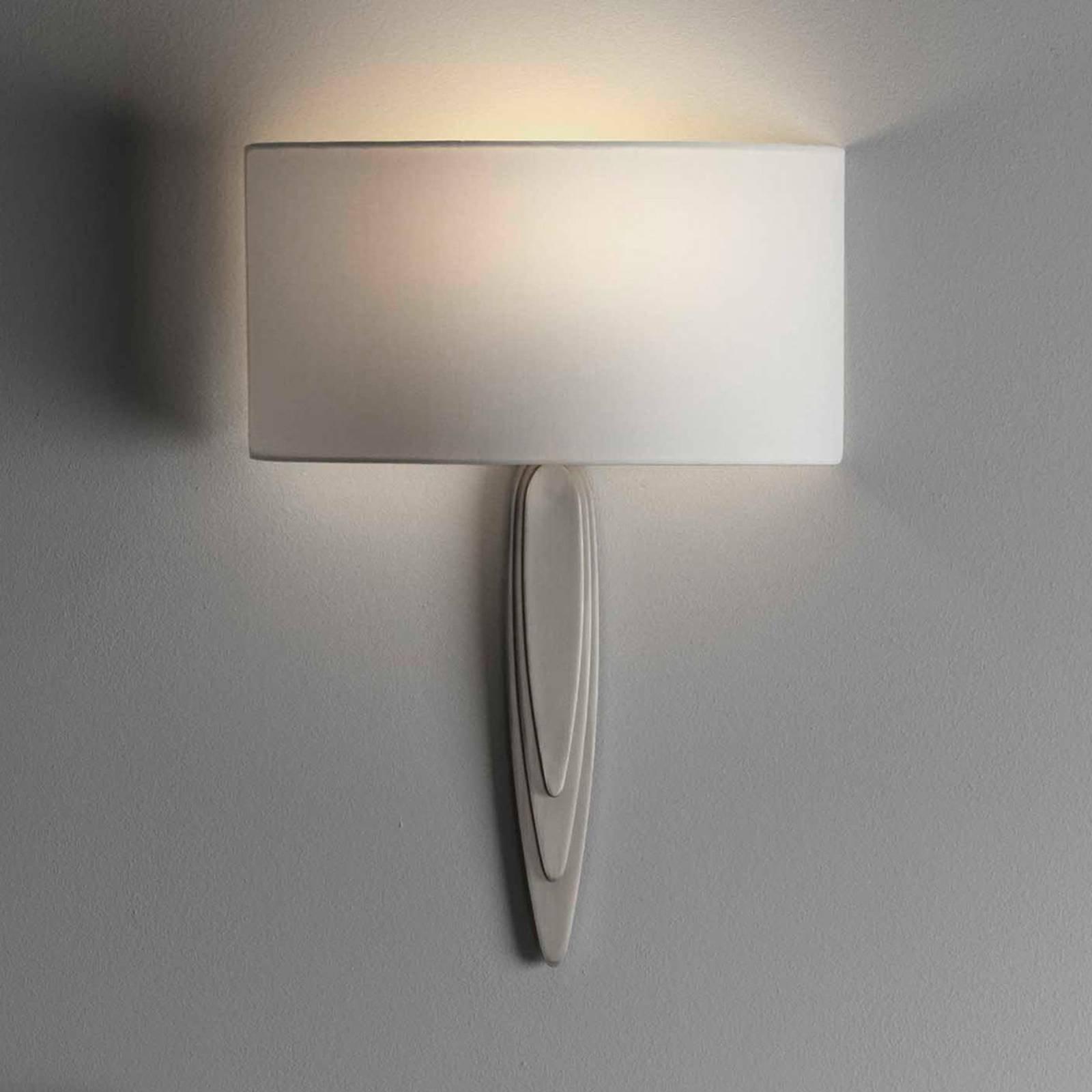 Astro Gaudi vegglampe nikkel matt/hvit