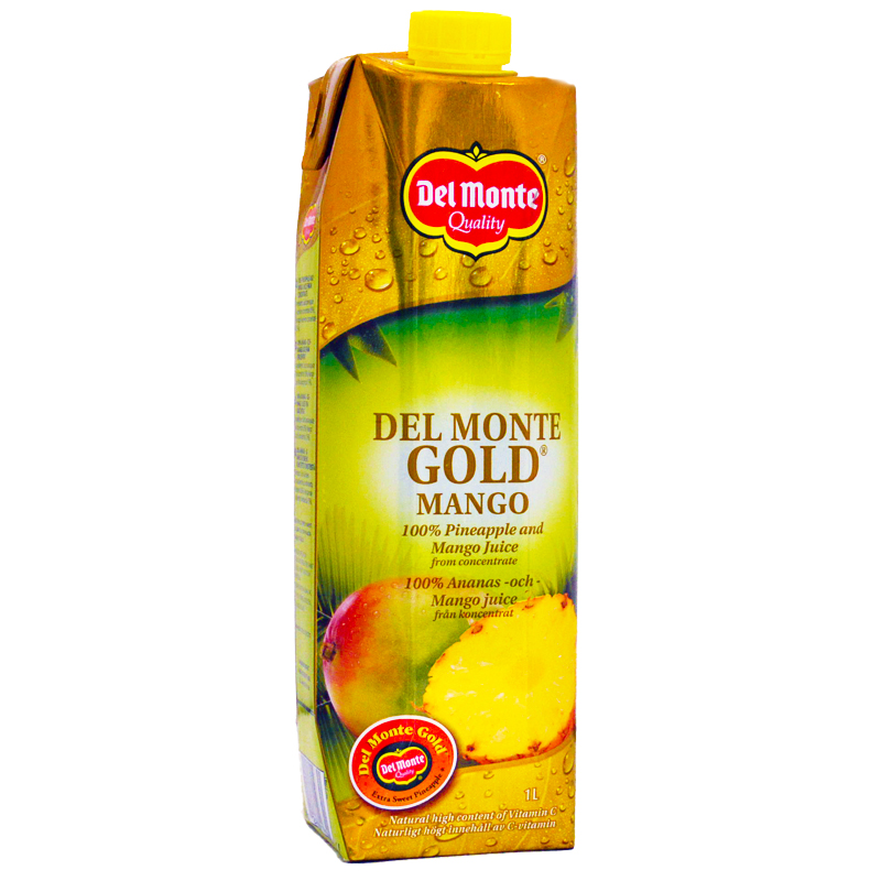 Mango- & Guldananasjuice - 40% rabatt