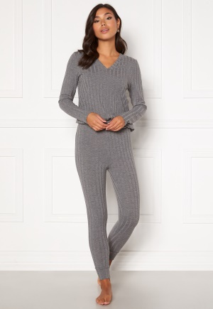 Happy Holly Alice lounge legging Grey melange 44/46