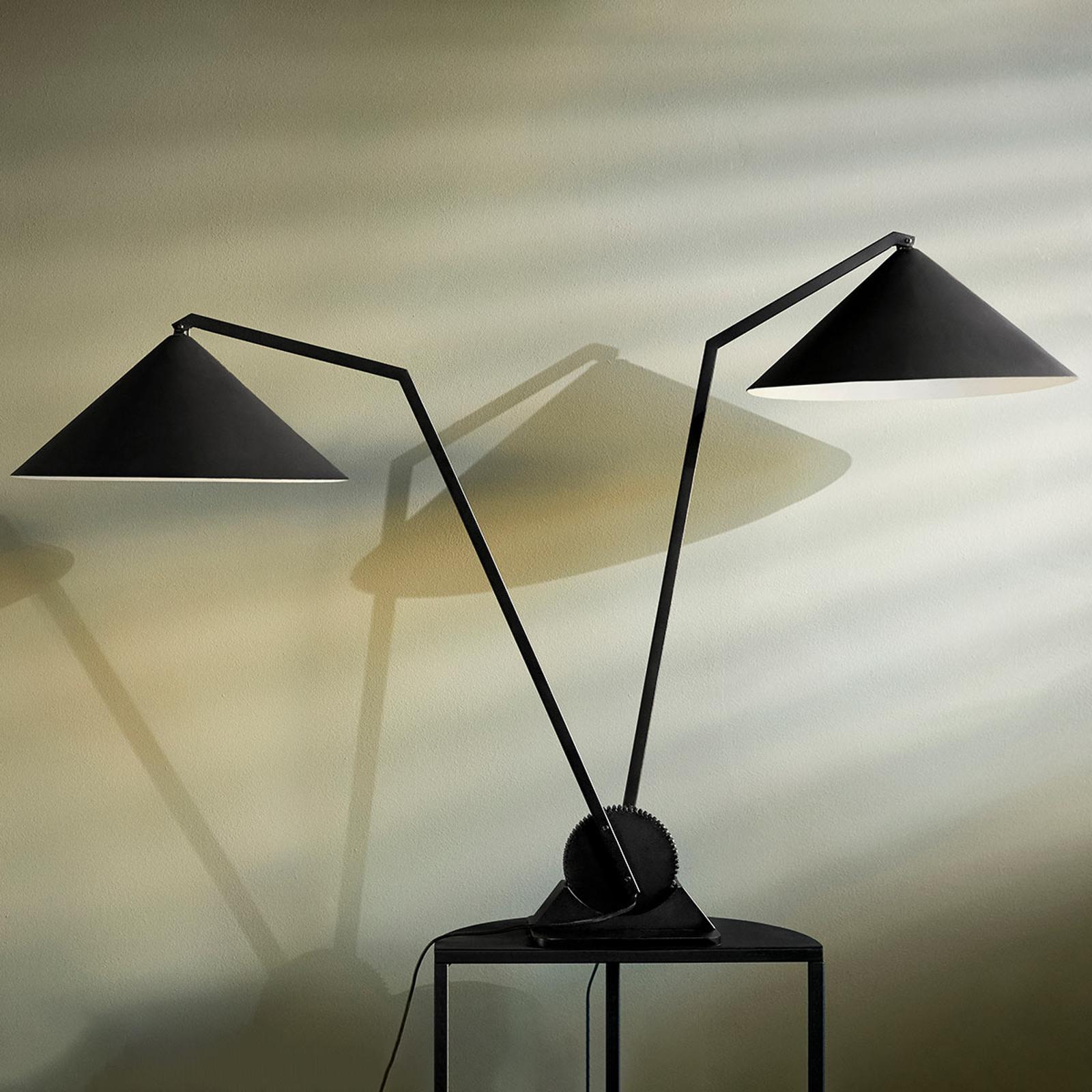 Northern Gear Table -pöytävalaisin, 2-lamppuinen