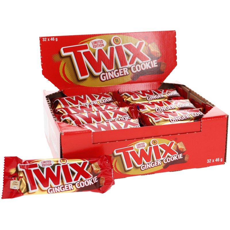 Twix Ginger Cookie 32-pack - 43% rabatt