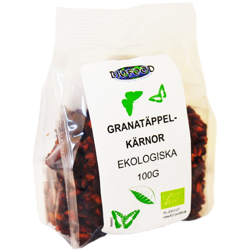 Granatäppelkärnor 100g - 51% rabatt