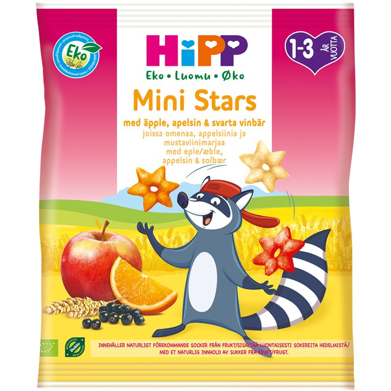 Snacks Mini Stars - 15% rabatt