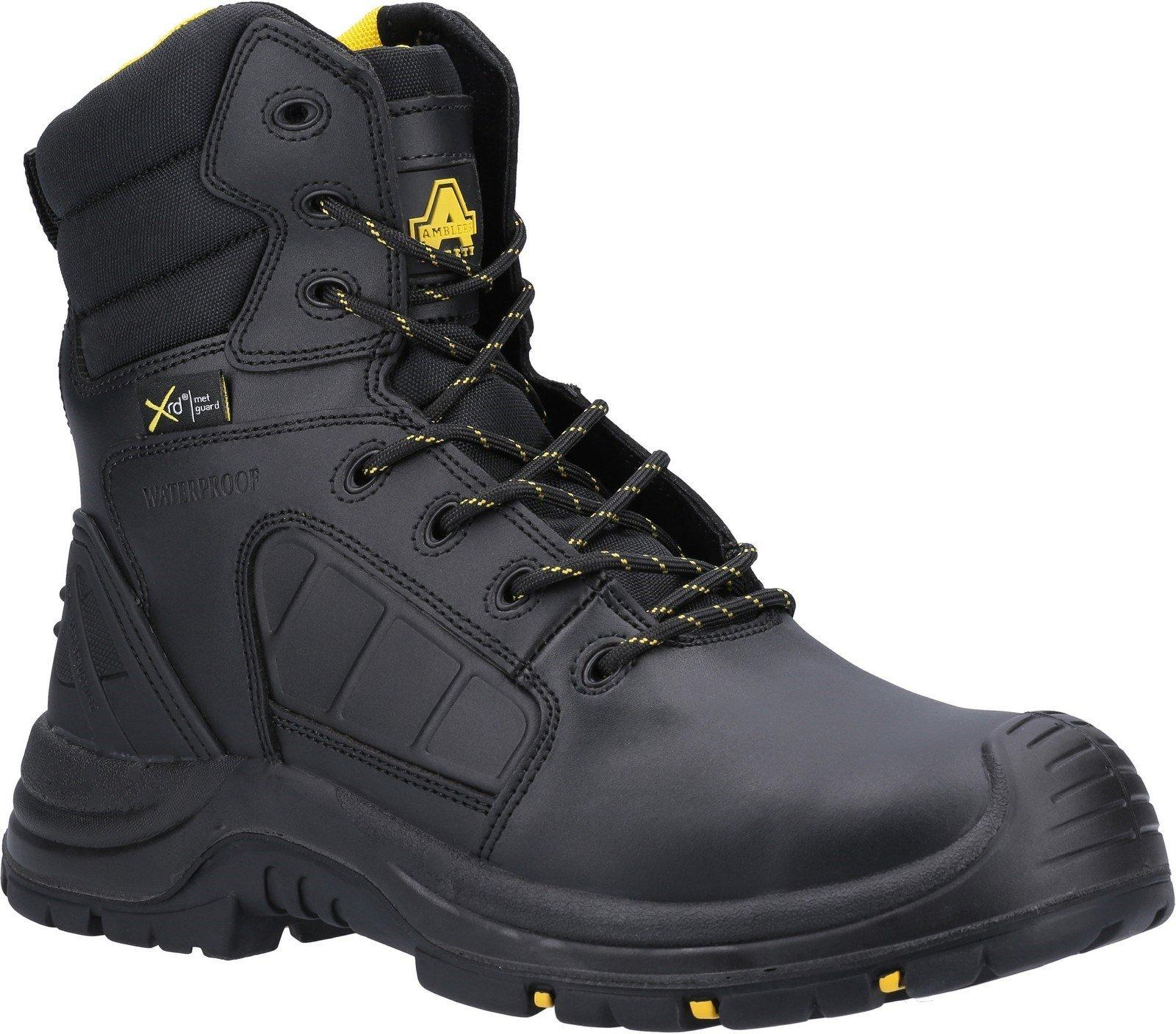 Amblers Unisex Safety Berwyn Hi-Leg Waterproof Safety Boot Black 29735 - Black 10