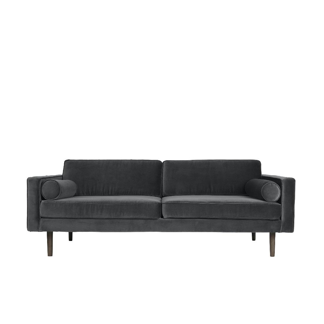 Soffa grå sammet VIND, Broste Copenhagen