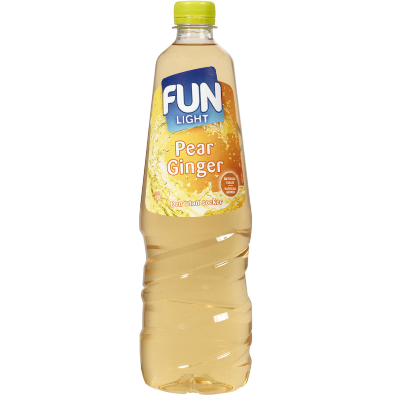 "Fun Light ""Pear & Ginger"" 1l - 75% rabatt"