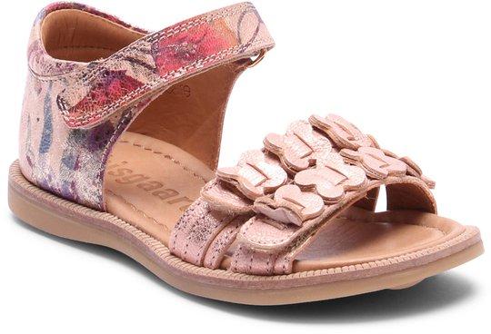 Bisgaard Sandal, Creme Flowers 27