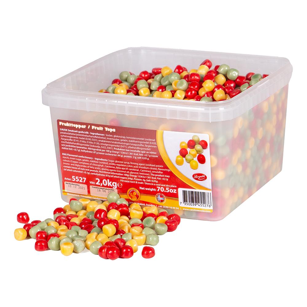 Frukttoppar i Storpack - 2 kg