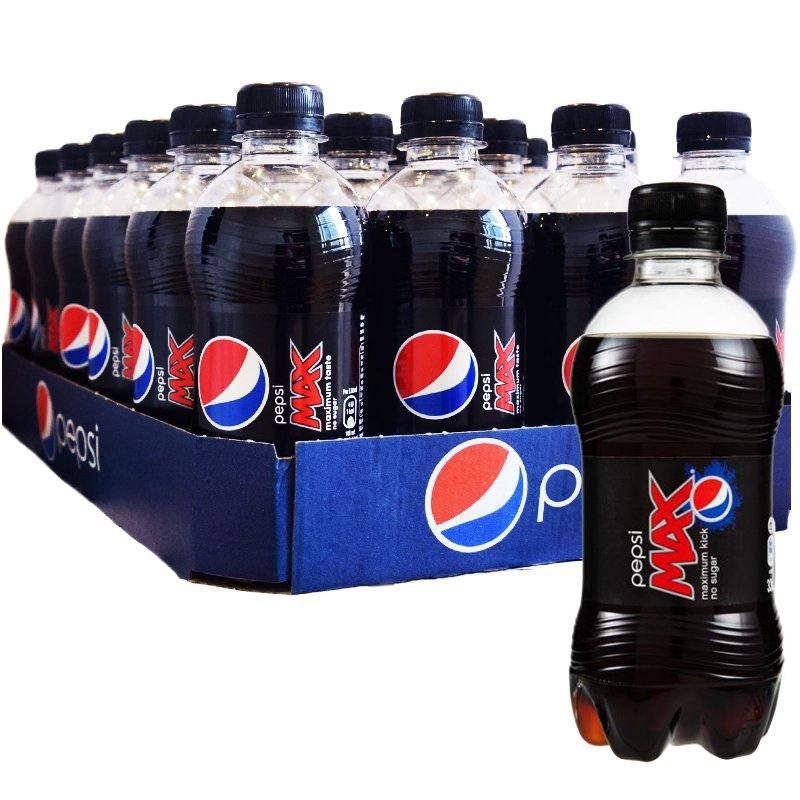 Hel Platta Pepsi Max 24 x 330ml - 34% rabatt