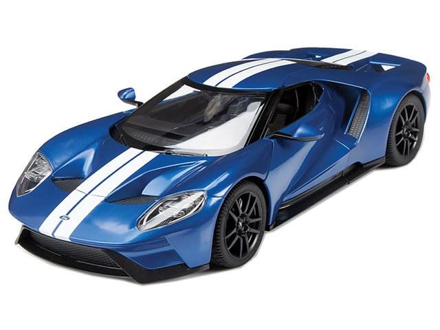 Rastar - Ford GT, Blue - R/C 1:14 (23043)