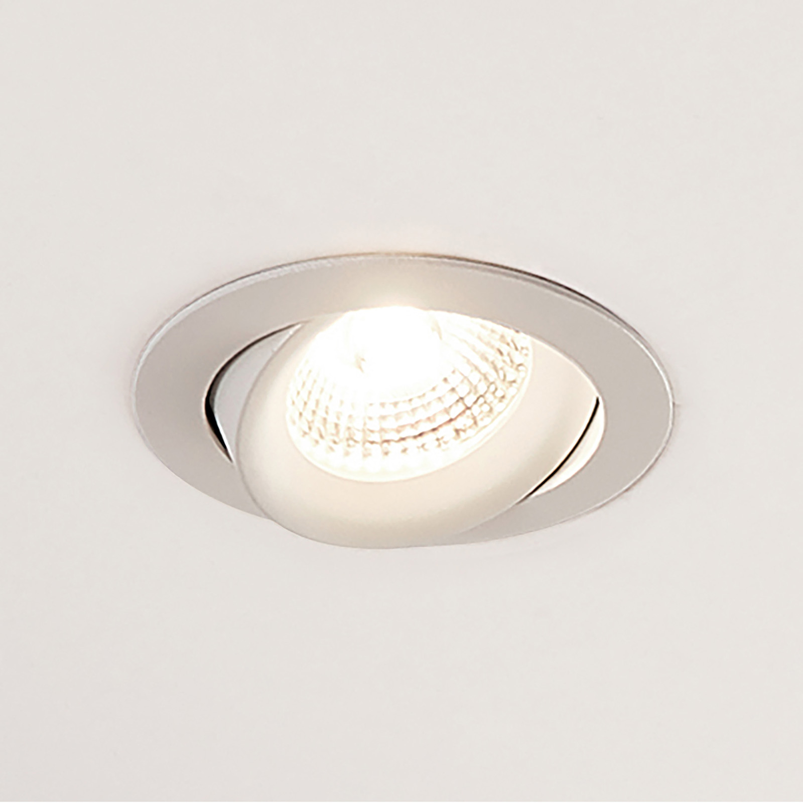 Arcchio Ozias - LED-kohdevalo, valkoinen, 6 W