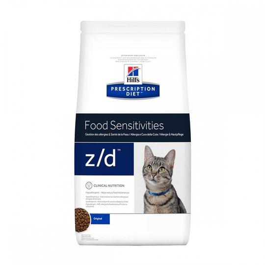 Hill's Prescription Diet Feline z/d Allergy & Skin Care Original (2 kg)