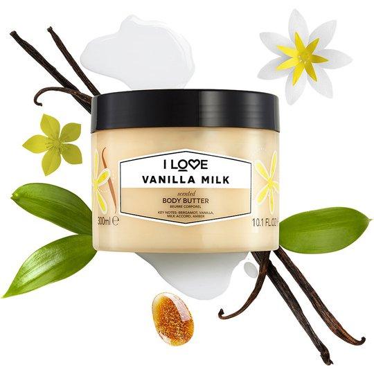 Vanilla Milk, 300 ml I love… Vartaloemulsiot