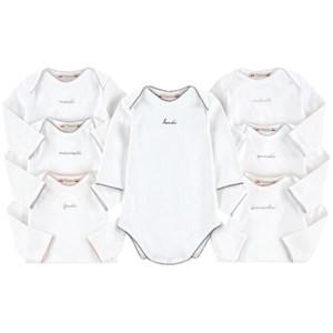 Bonpoint 7-Pack Days of the Week Baby Body Vit 1 mån