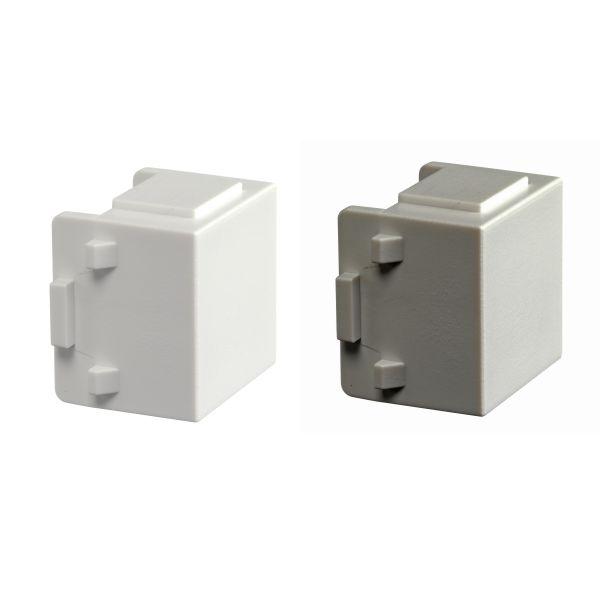 Schneider Electric WDE002041 Blindpropp for monteringsboks, 10-pakning Hvit