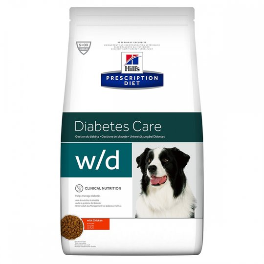 Hill's Prescription Diet Canine w/d Diabetes Care Chicken (4 kg)