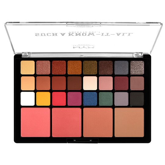 Such A Know It Shadow Palette, 1,2 g NYX Professional Makeup Luomiväripaletit