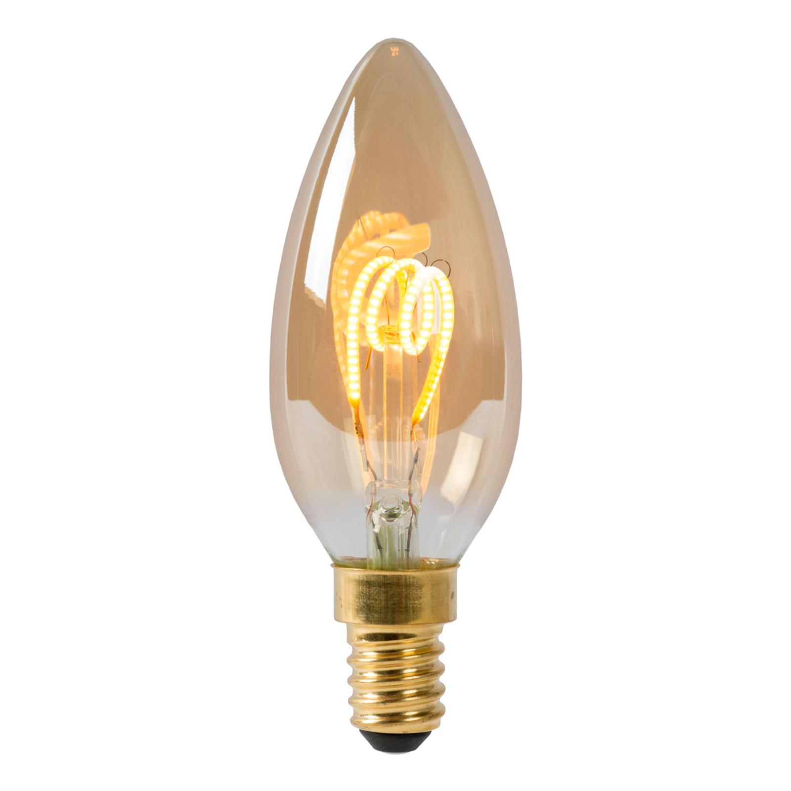 LED-kynttilälamppu E14 3W 2 200 K himmennettävä