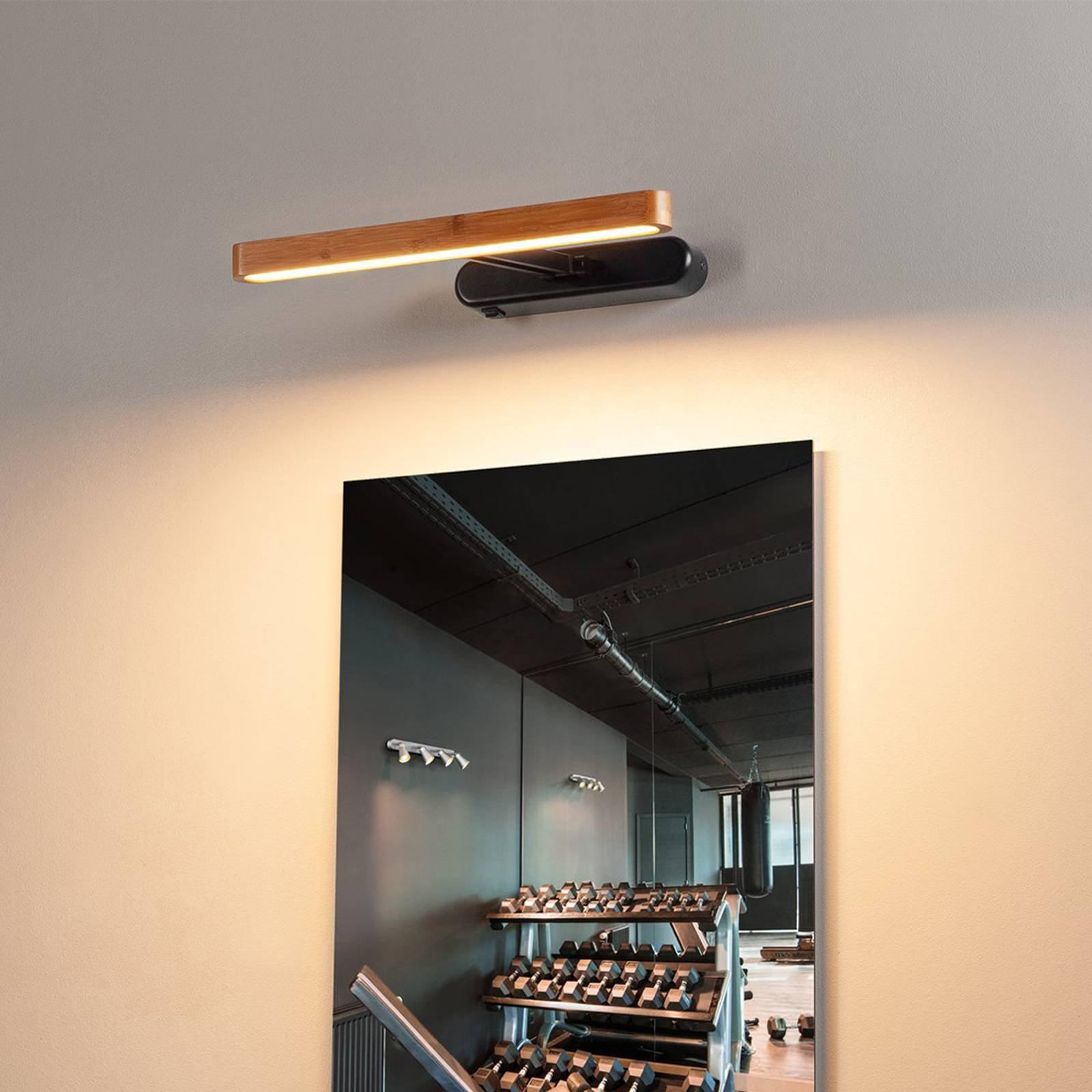 SLV Vincelli D LED-vegglampe, dybde 10,4 cm
