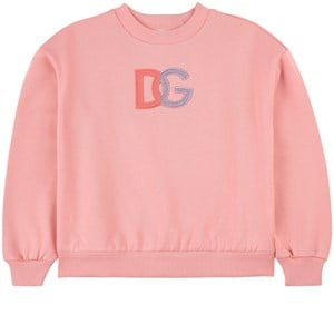 Dolce & Gabbana DG Logo Sweatshirt Rosa 4 år