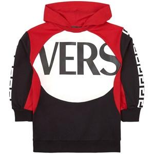 Versace Logo Huvtröja Svart 8 år