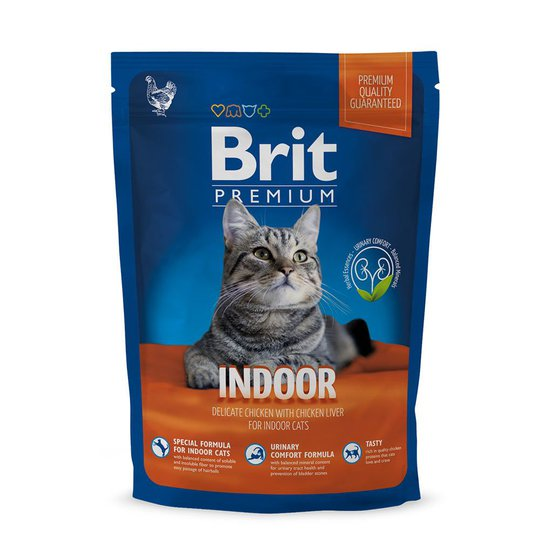 Brit Premium Cat Indoor (1,5 kg)