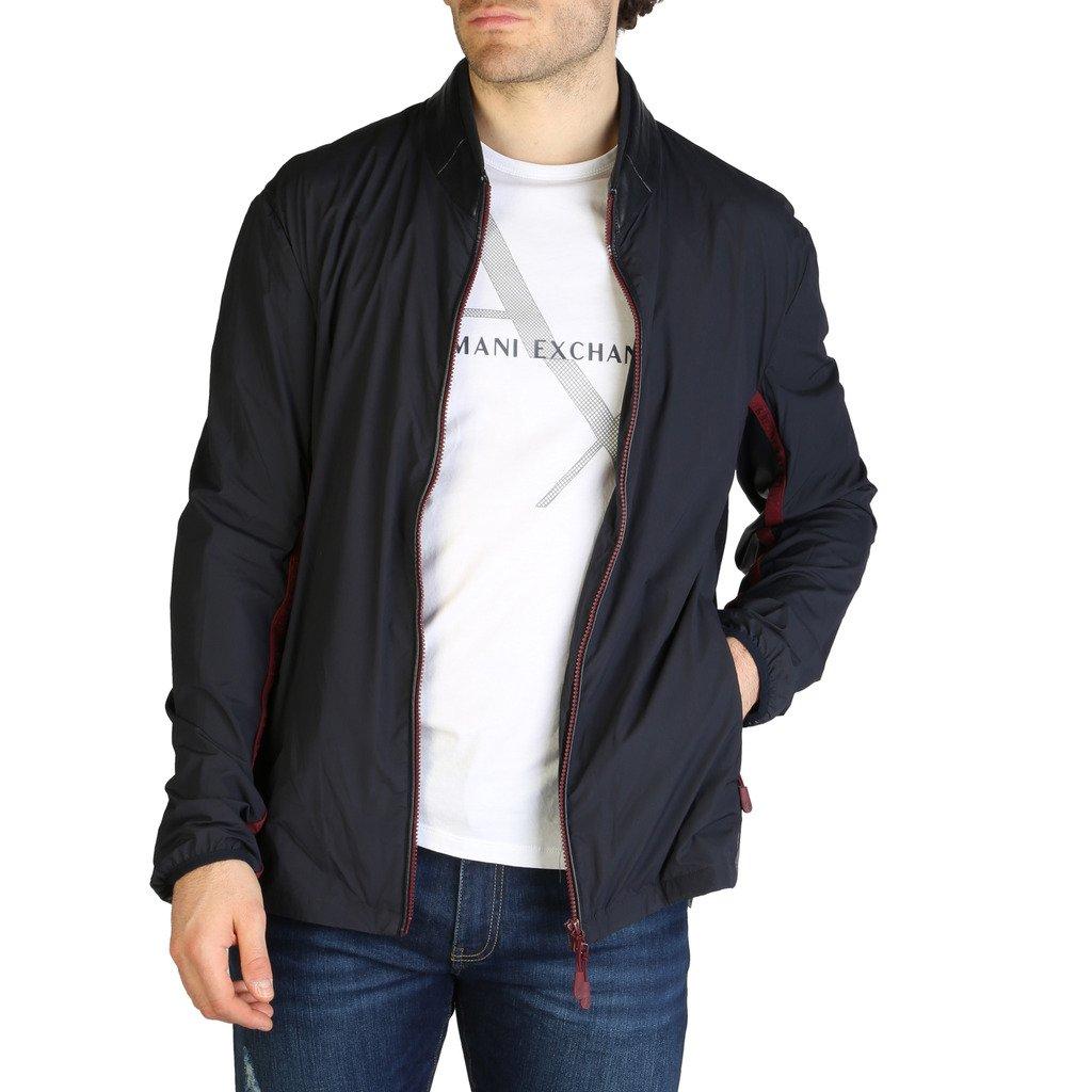 Armani Exchange Men's Jacket Blue 3ZZB23_ZNV4Z - blue S