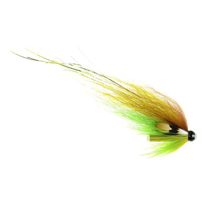 Yellow Highlander - 6mm tube 4cm wing Kjøp 12 fluer få gratis flueboks