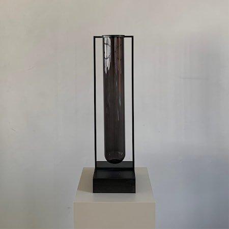 Tate Stor Vase Burned Black