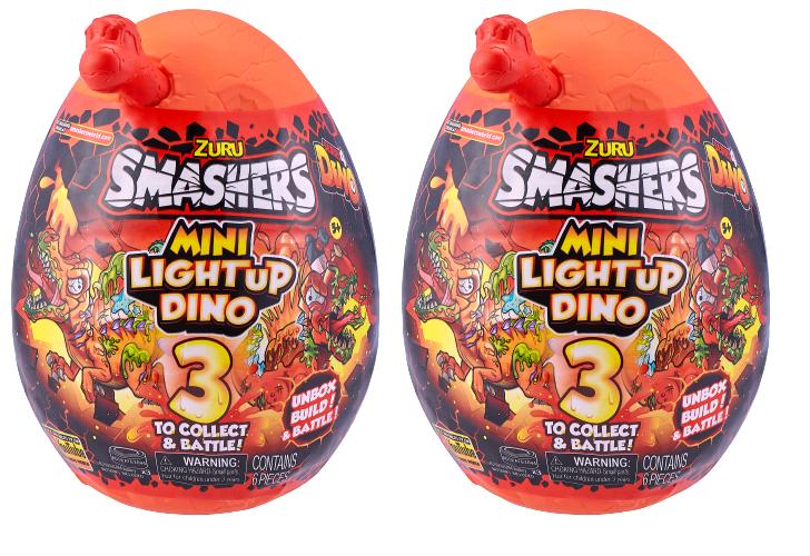 Smashers - Medium Light up Surprise Egg (2 pcs)