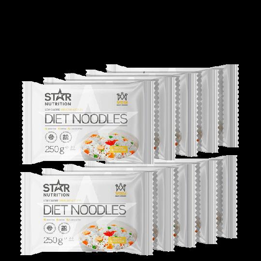 16 x Diet Noodles, 250 g, BIG BUY