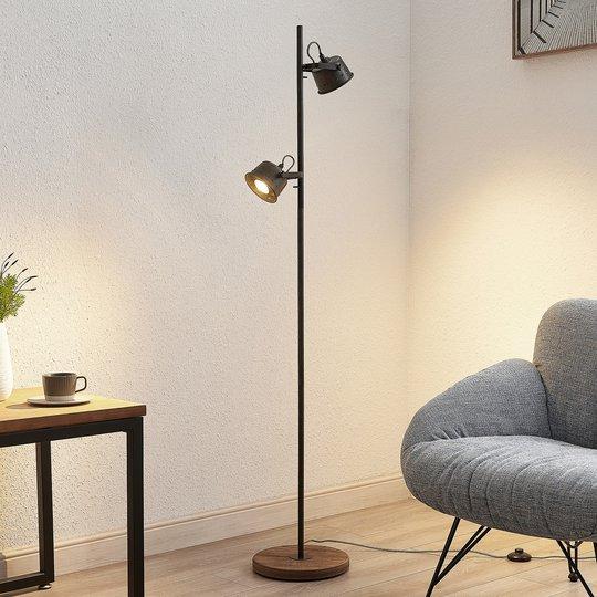 Lindby Rubinjo -lattiavalo, kaksilamppuinen