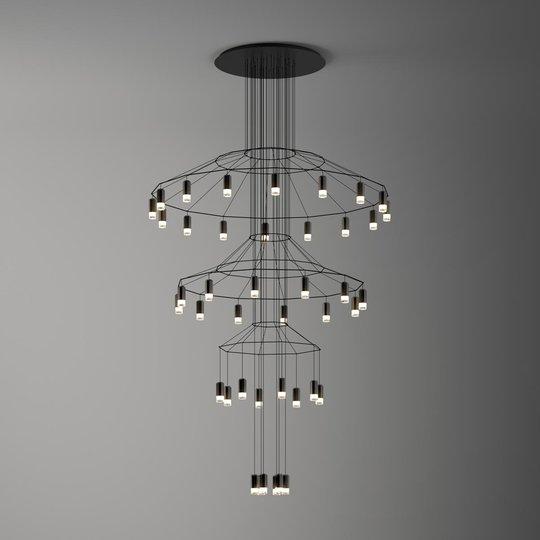 Vaikuttava LED-riippuvalaisin Wireflow