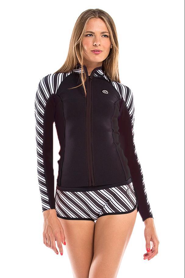 Vibrant Stripes 1 MM Jacket / XS