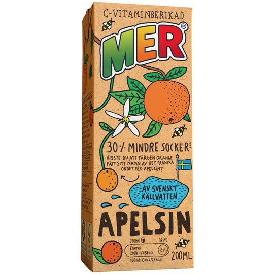 Fruktdryck Apelsin 200ml - 39% rabatt