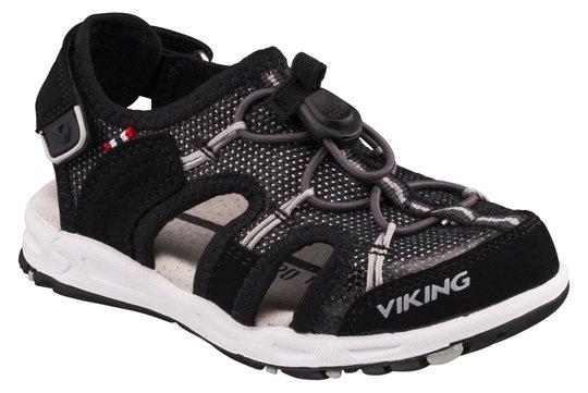 Viking Thrill II Sandal, Black/Grey 22