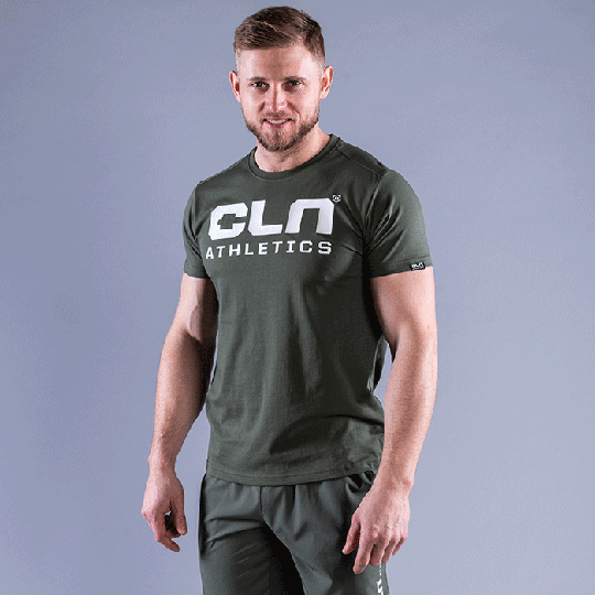 CLN Promo T-shirt, Moss Green