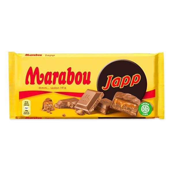 Marabou Japp Chokladkaka - 185 gram