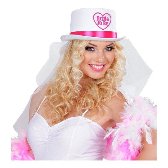 Bride To Be Hatt med Slöja - One size