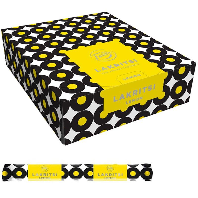 Lakritsstänger Lemon 30-pack - 22% rabatt