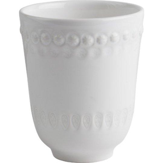 PotteryJo Daisy Mugg 35 cl White