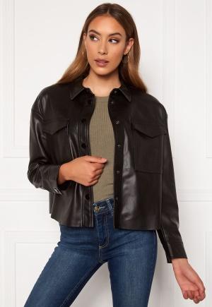 ONLY Marina Faux Jacket Black 40